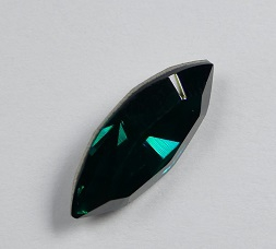 SW-N15-EM Emerald Xilion Swarovski Navette 15x7 mm per stuk-0