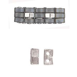 Cym-HT-012325SP set van 4 stuks Cymbals Klouvas Antique Silver Plated-0