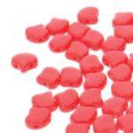 GIN-93200 Matubo 2 Hole Ginko Bead Opaque Red 10 gram-0