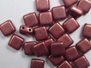 CMT-05A07 CzechMates Tile Bead Color Trends Saturated Metallic Blooming Dahlia 25 st.-0