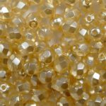 0040251 Crystal Pearl Peach facet 4 mm. 50 Pc.-0