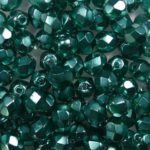 0100534 Crystal Pearl Turquoise facet 4 mm. 50 Pc.-0