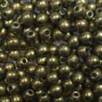 03-R-05A01 Colortrends Saturated Metallic Emperador Round 3 mm. 100 stuks-0