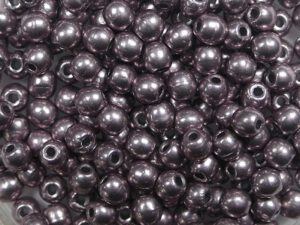 03-R-05A02 Colortrends Saturated Metallic Almost Mauve Round 3 mm. 100 stuks-0