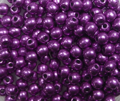 03-R-05A10 Colortrends Saturated Metallic Spring Crocus Round 3 mm. 100 stuks-0