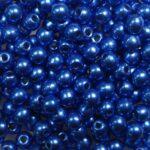 03-R-06B03 Colortrends Saturated Metallic Nebulas Blue Round 3 mm. 100 stuks-0