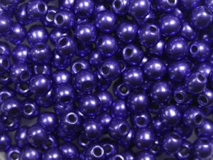 03-R-06B07 Colortrends Saturated Metallic Ultra Violet Round 3 mm. 100 stuks-0