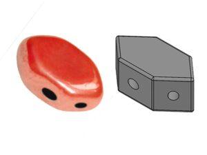 PAR-93400-14400 Paros® par Puca Opaque Light Coral Luster 10 gram-0