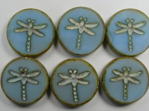 Table Cut Dragonfly beads
