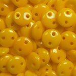 cml-93110_czech_mates_2-hole_lentil_sunflower_yellow