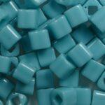 TC-04-0055 toho cubes 4 mm opaque turquoise kleurnummer 55