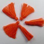 TS-OR tassel, kwastje 1,7 cm oranje