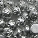 baroque 2-hole cab BQ2Cab-01700 matte metallic silver