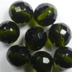 fp1-14-50230 14 mm firepolish olivine