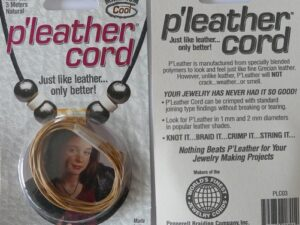 P-leather cord