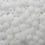 mb-03-03000 3 mm melon beads opaque white