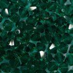 PRBic-04-EM preciosa bicones 4 mm emerald