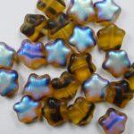 0030334 stars 8 mm matte tortoise AB color 18036MX