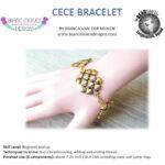 free cece bracelet met silky beads