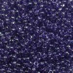 tr-11-0136 toho rounds 11-0 transparent lustered sugar plum