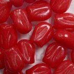 0050304 mini tulip bead 9×7 mm Alabaster Grenadine kleur 02010-32155