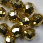 FP1-08-00030-26200 firepolish 8 mm aurum gold coated