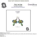 fairy earrings met Bridge beads of navette beads