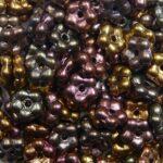 FN-00030-01640 forget-me-nots 5 mm matte metallic bronze iris
