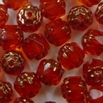 0060134 hyacinth copper cathedral beads color 80020-14415