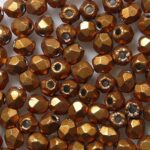 fp1-03-07B05 firepolish 3 mm ColorTrends Saturated Metallic Hazel